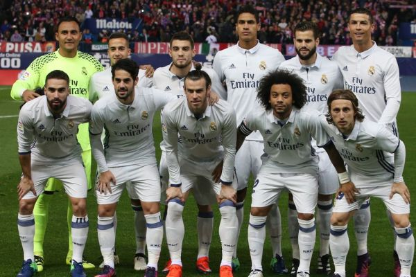 Lot jucatori Real Madrid 2017-2018