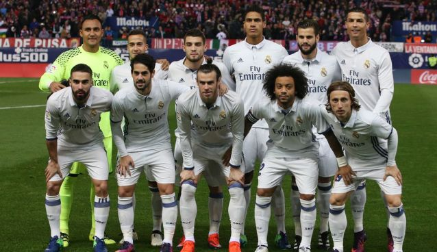 Lot jucatori Real Madrid 2017-2018