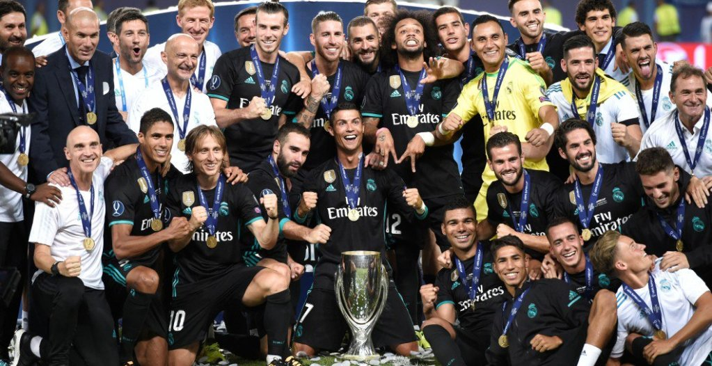 Real Madrid Supercupa Europei 2017