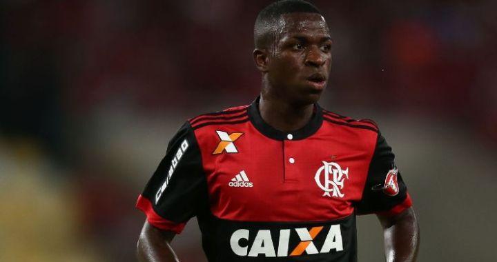 Vinícius Jr, decisiv pentru Flamengo