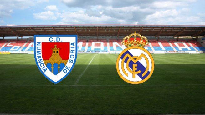 Numancia - Real Madrid
