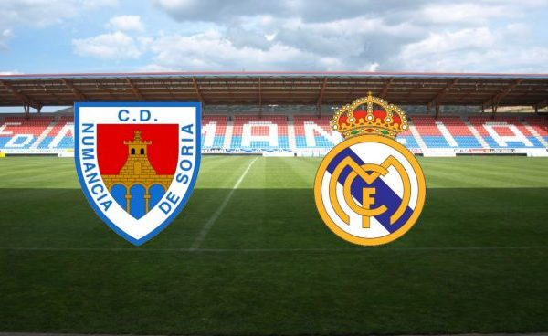 Numancia - Real Madrid