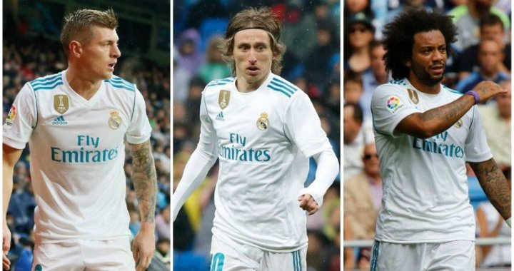 Kroos, Modric si Marcelo sanse mici pentru returul cu PSG