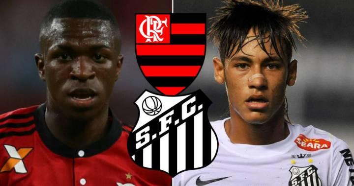 Vinicius Junior vs Neymar Junior » Pana la varsta de 17 ani, pustiul Realului sta mai bine