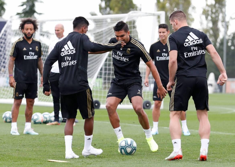 Real Madrid - Entrenamiento del Real Madrid - 13-09-2019