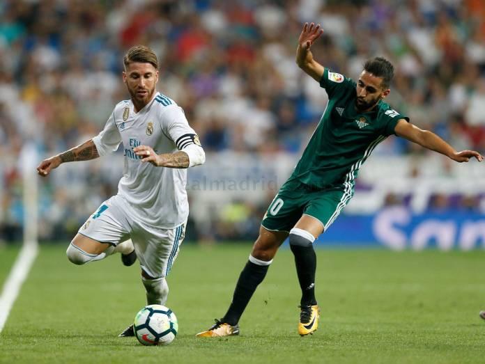 Sergio Ramos . Real Betis