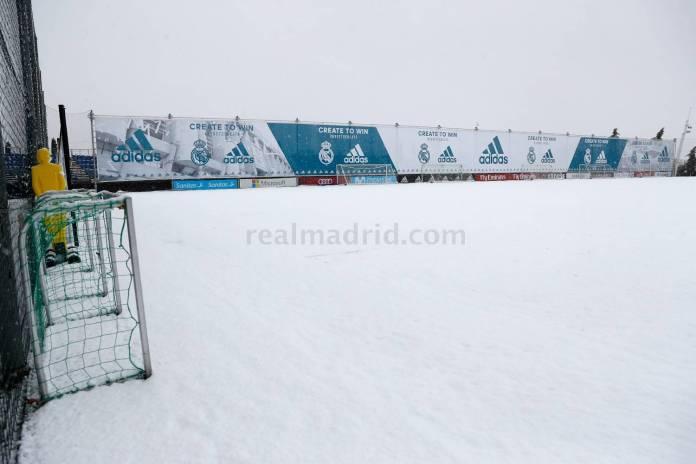 Campo de entrenamiento Real Madrid