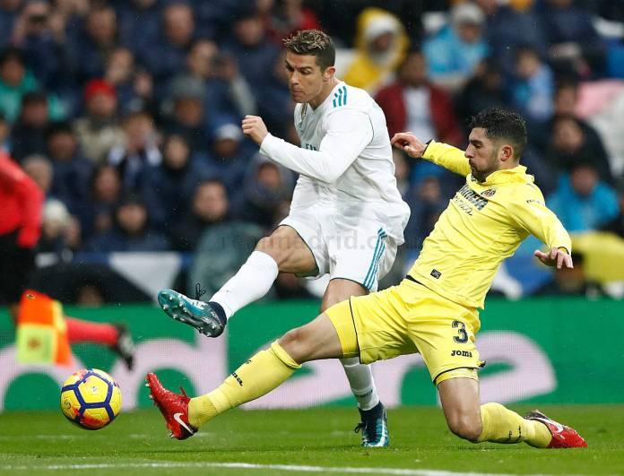 Cristiano Real Madrid vs Villarreal