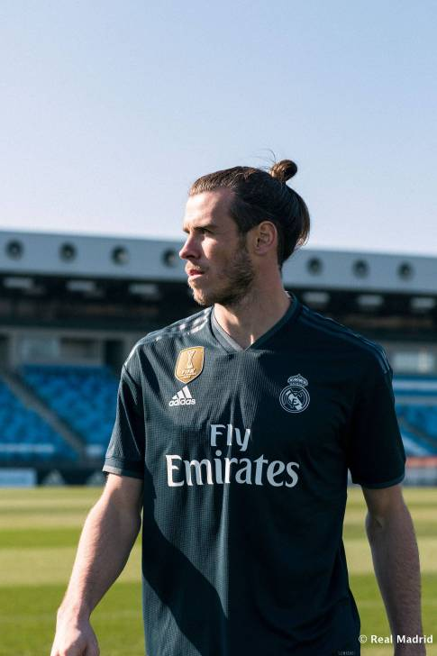 Real Madrid camiseta suplente