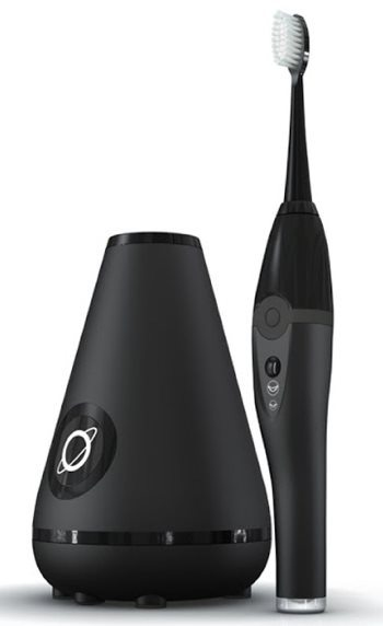 Aura Clean Ultrasonic Toothbrush System (Deep Space Black)
