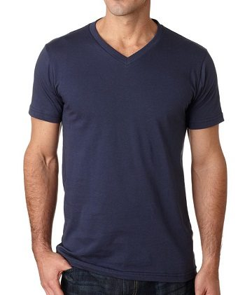 canvas-unisex-jersey-short-sleeve-v-neck-t-shirt-3005-navy