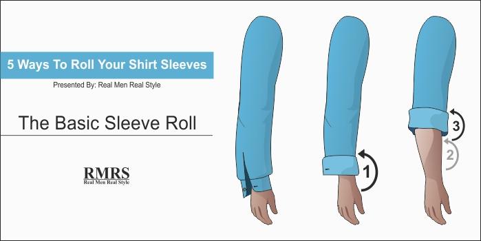 roll shirt sleeves