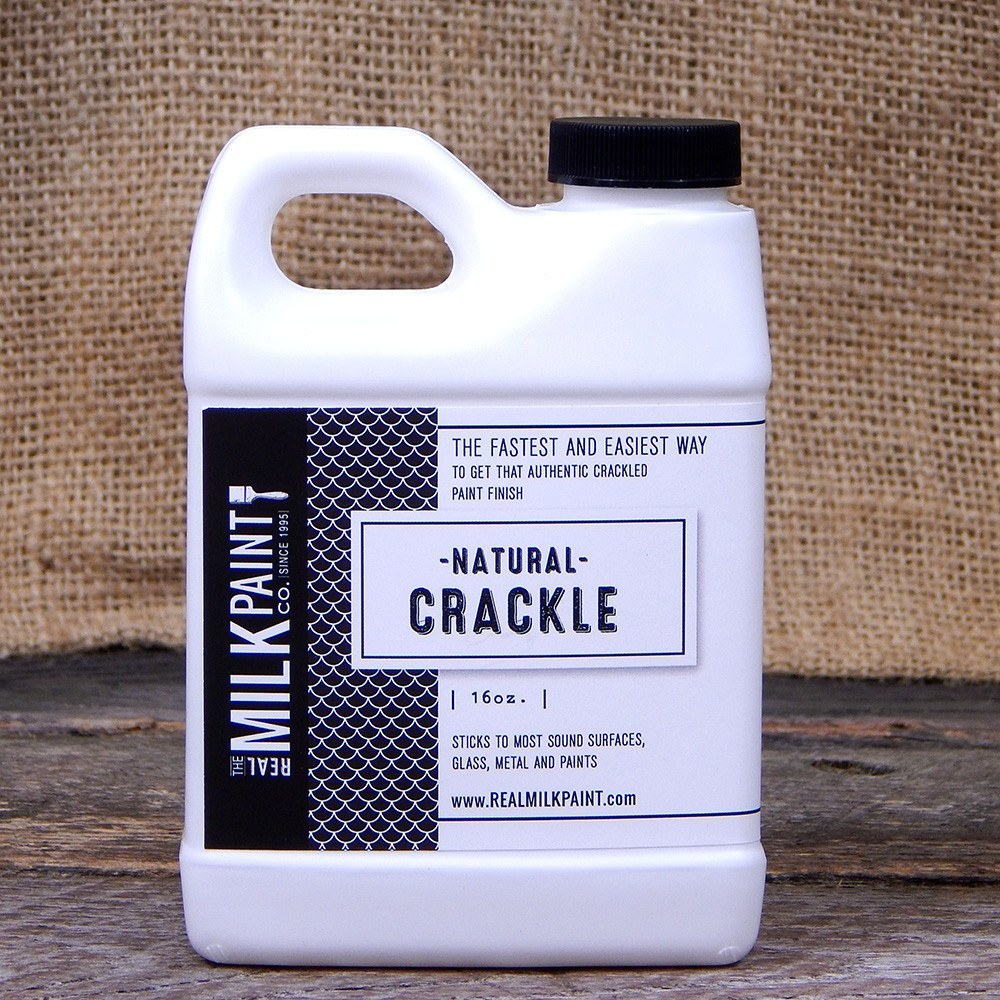 Create A Faux Wood Finish With Our Natural Crackle Paint