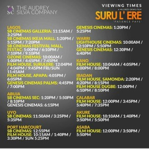 SURU L'ERE HITS THE CINEMA