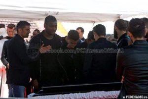 Funeral service of Patrick Ekeng