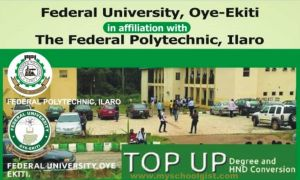 FUOYE – Best Solution Polytechnic (BESTPOTECH) Top-Up/Conversion Programme for 2019/2020 Academic Session