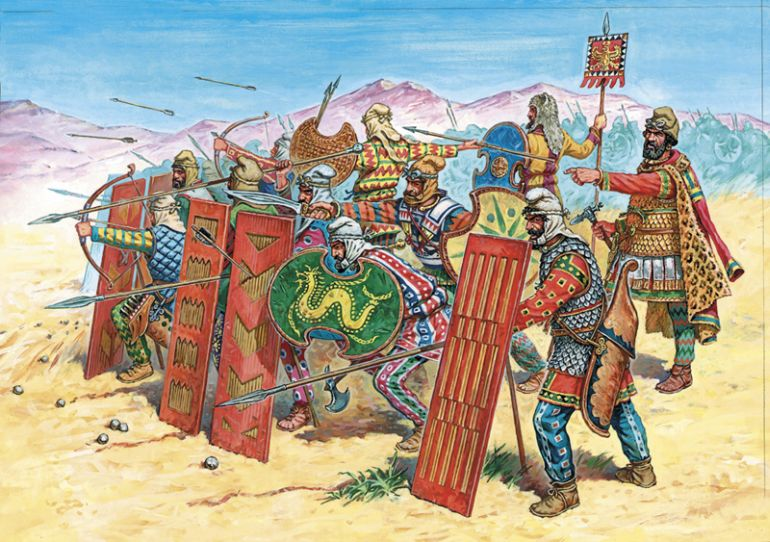Facts_Achaemenid_Persian_Empire_army_4