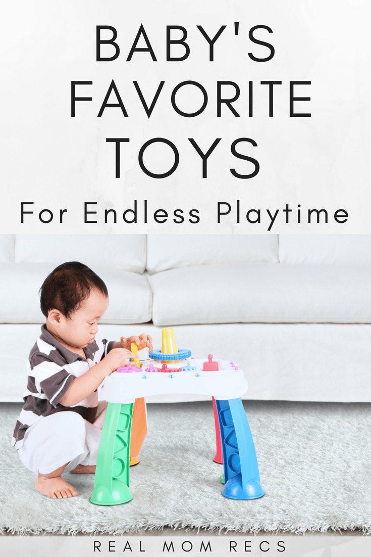 heres my list of the best toys for 6 month old babies great for baby shower or christmas gifts