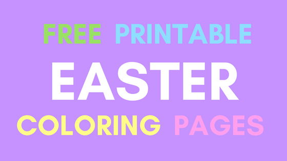Free Printable Easter Coloring Pages - Real Mom Recs