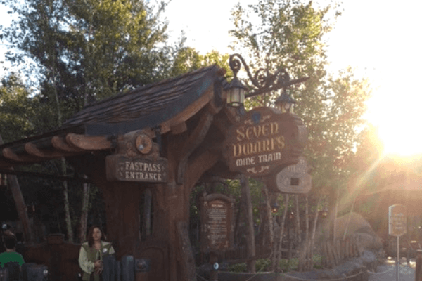 Seven dwarfs Mine Train is the top pick for fastpass at Disney Magic Kingdom