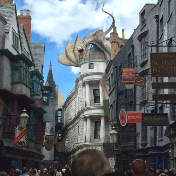 visiting the Wizarding World