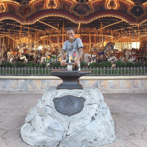 Early Morning Magic carousel