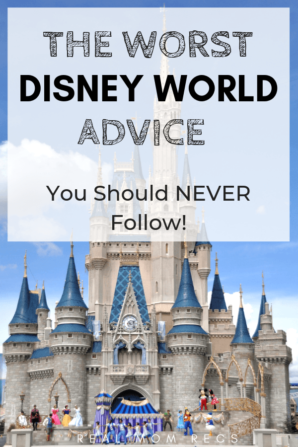 Worst Disney Advice