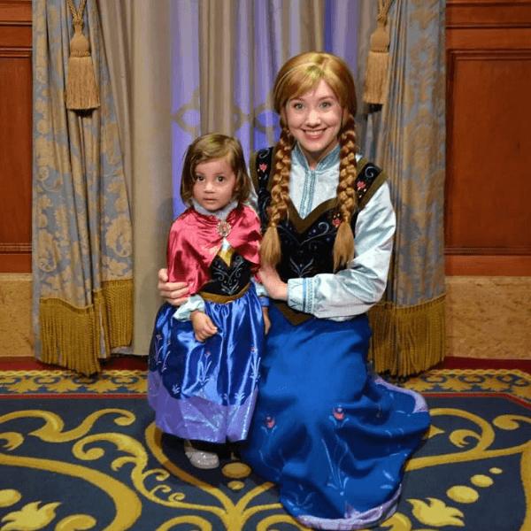 Toddler at Disney