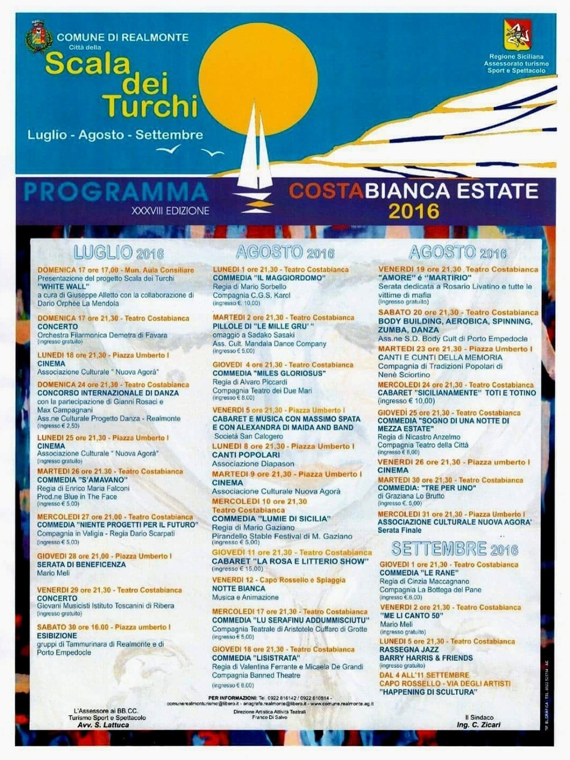 Costabianca_Estate_2016_Programma