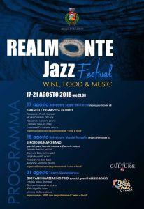 Programma Realmonte Jazz Festival 2018