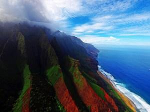 Napali Coast. Photo by Paul Bika
