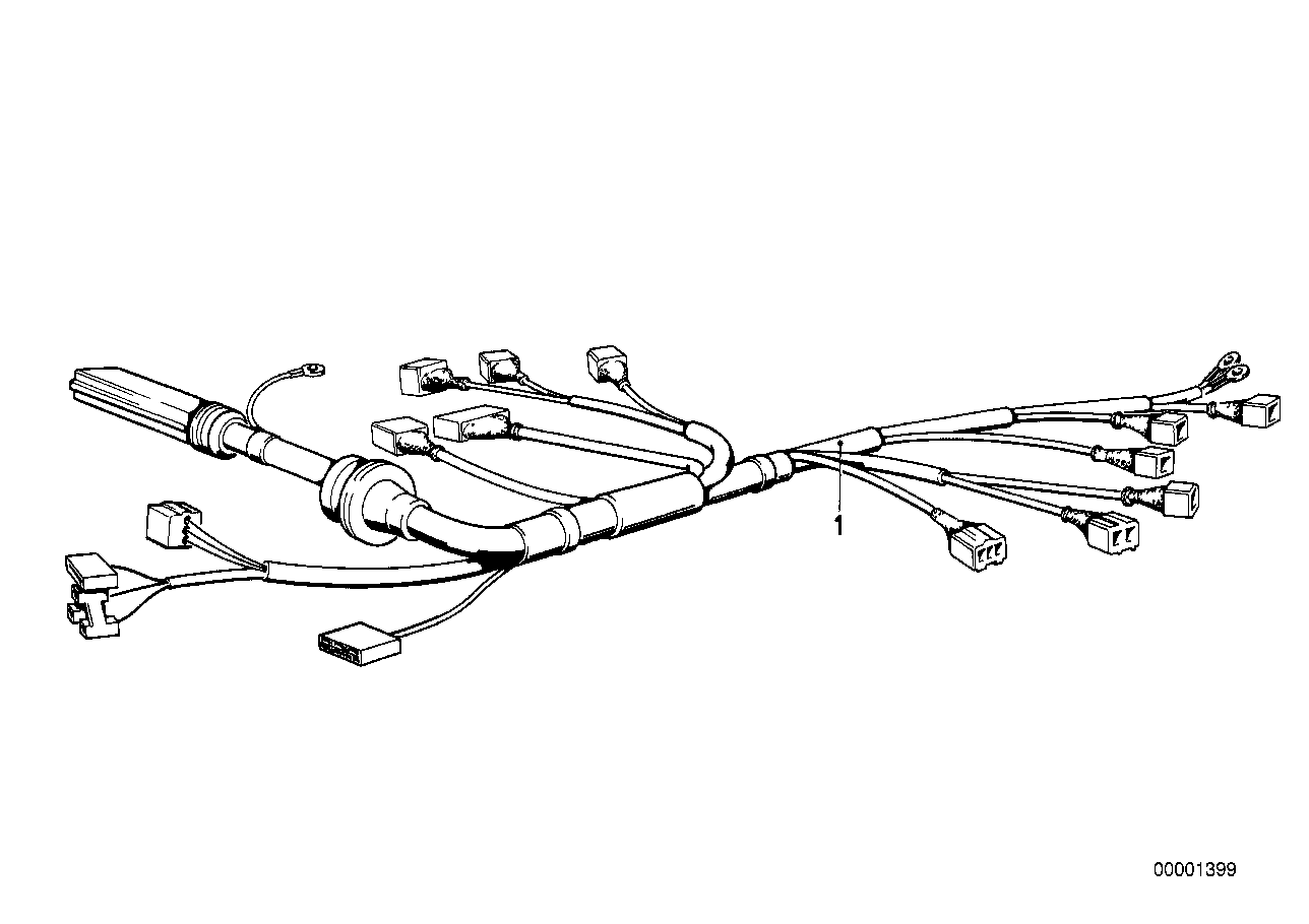 Bmw E30 Wiring Harnes