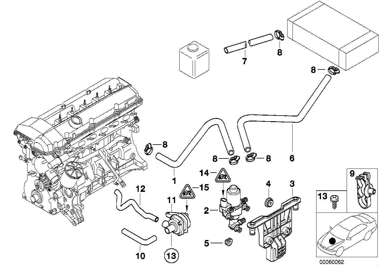 E39 Cooling System Wiring Diagram