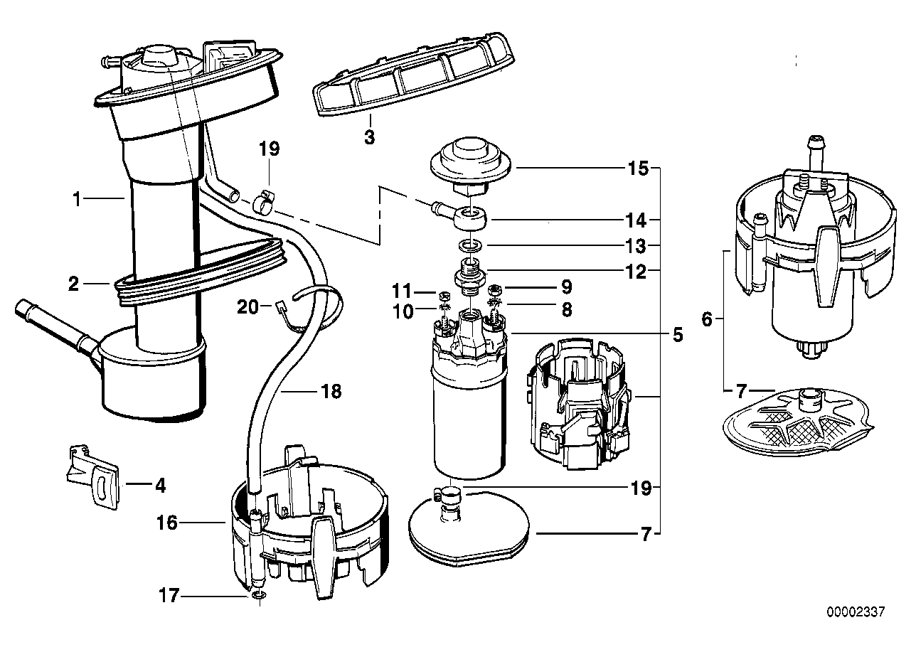 7 3 Fuel Sending Unit