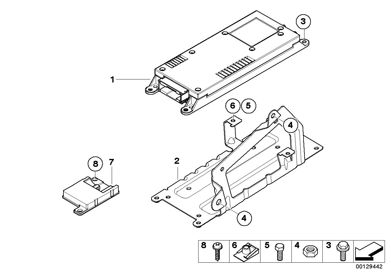 Single parts sa 633 trunk