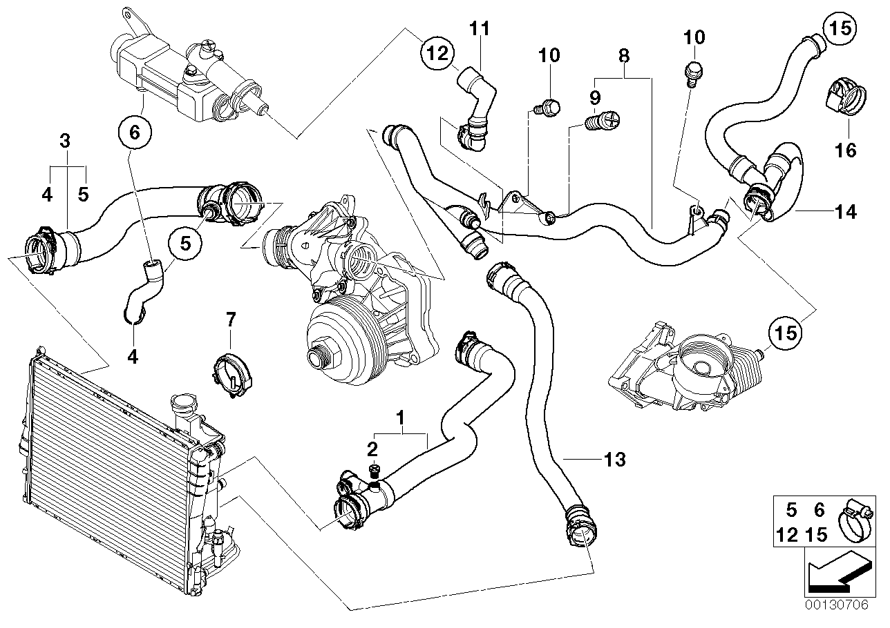 Bmw E46 Engine Diagram Cooling System Wiring Diagram For