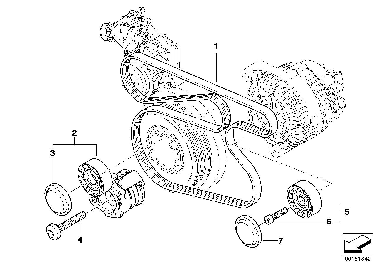Bmw N52 Belt Diagram