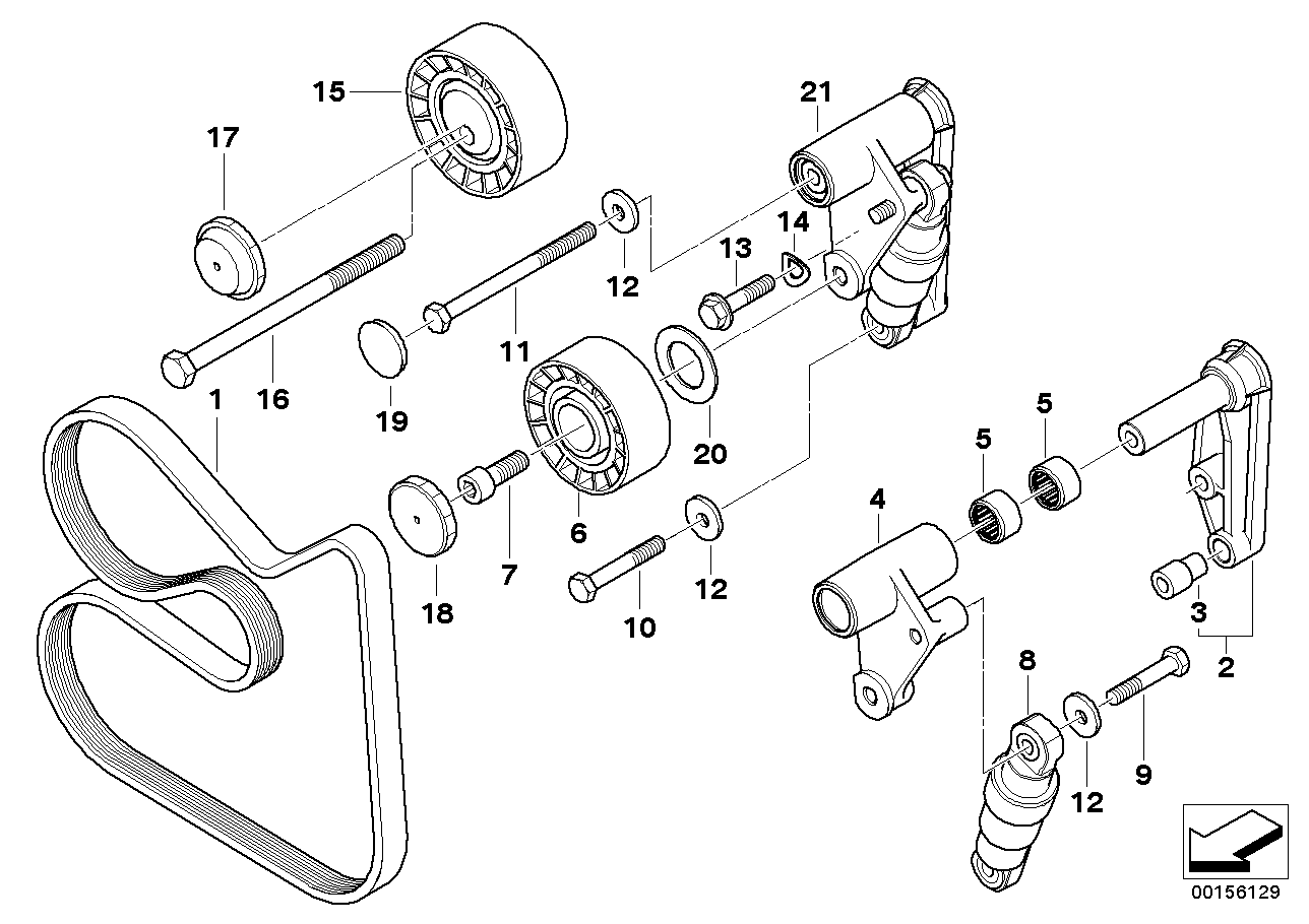 Bmw 325ci Engine Belt Diagram