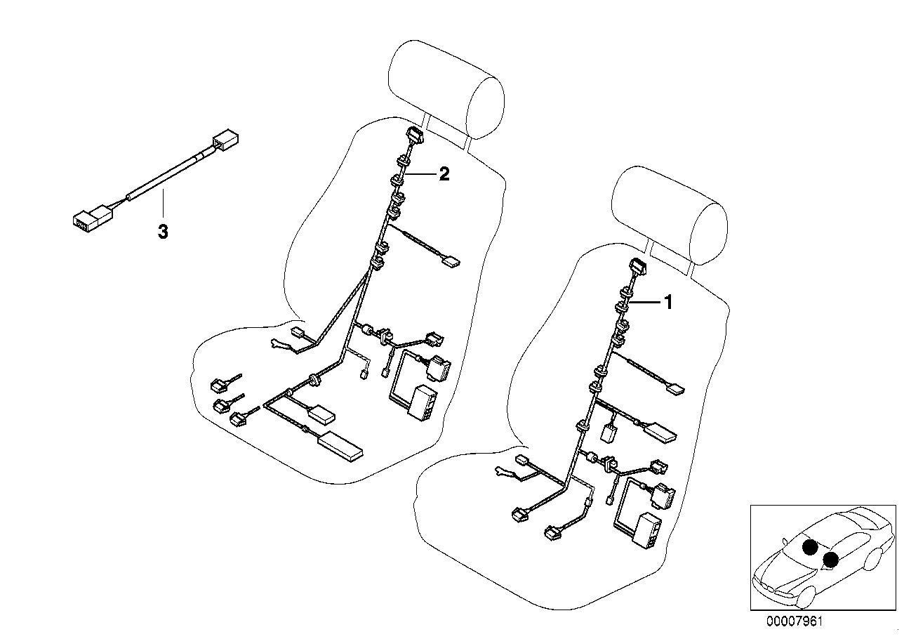 Seat Wiring Diagram Bmw M5