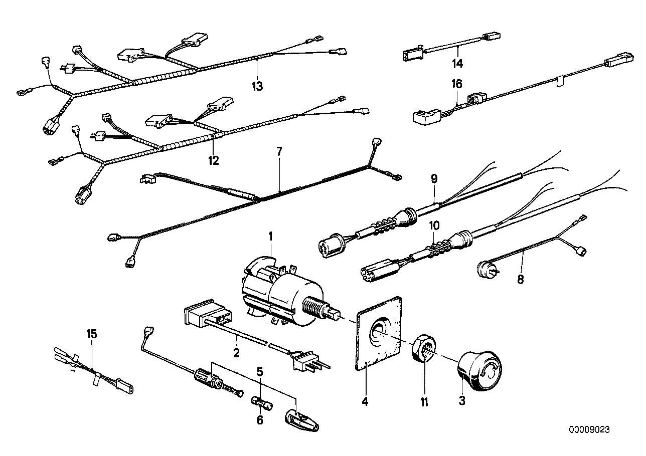 E23 745i Fuse Diagram