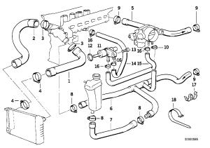 Bmw E36 M3 Cooling Diagram   WIRING DIAGRAM