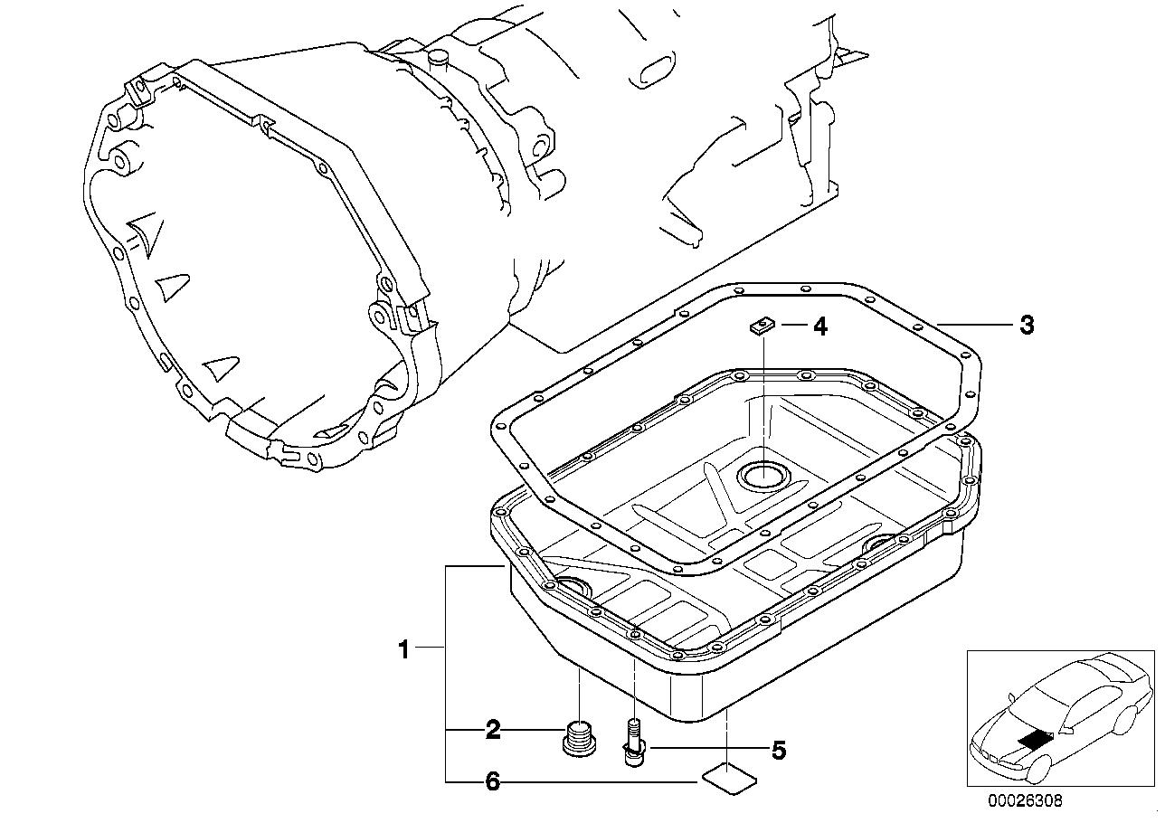 A5s440z oil pan