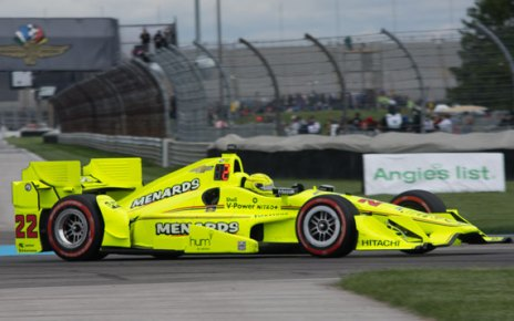 Simon Pagenaud dominated in his third straight victory