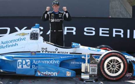 Simon Pagenaud wins the Honda Indy 200 at Mid-Ohio