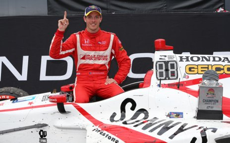Sebastien Bourdais wins the 2017 Firestone Grand Prix of St. Petersburg