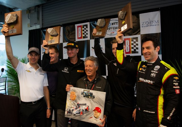 All three Team Penske drivers are former winners at Barber Motorsports Park