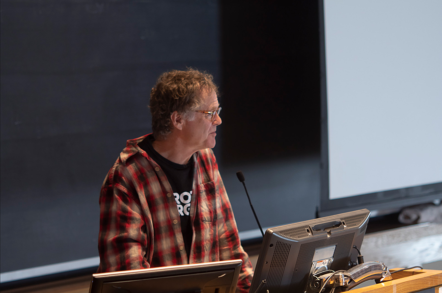 Dave Chapman speaks at the Real Organic Project Symposium in March, 2019.