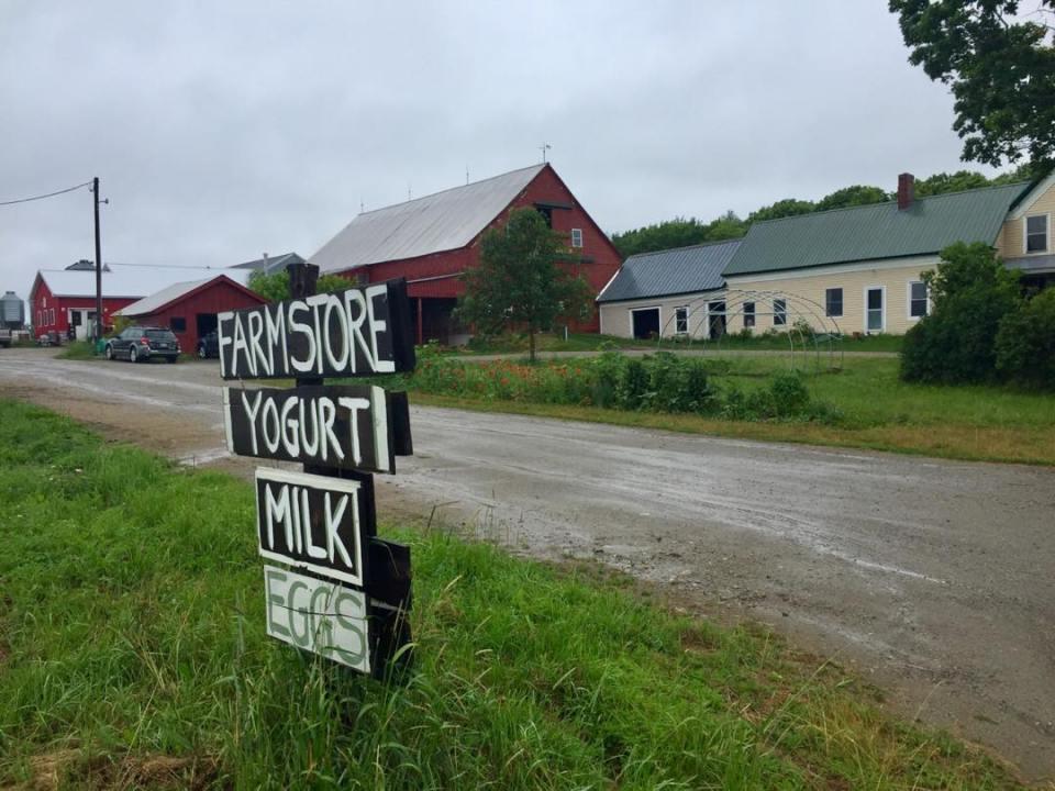 Milkhouse Creamery Monmouth Maine Farm Store