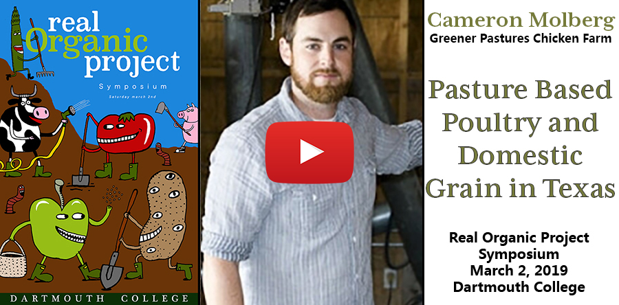 Cameron Molberg at Greener Pastures Chicken Farm