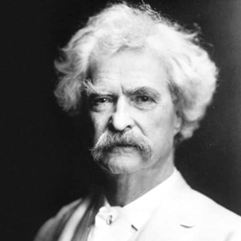 Mark Twain Black and White